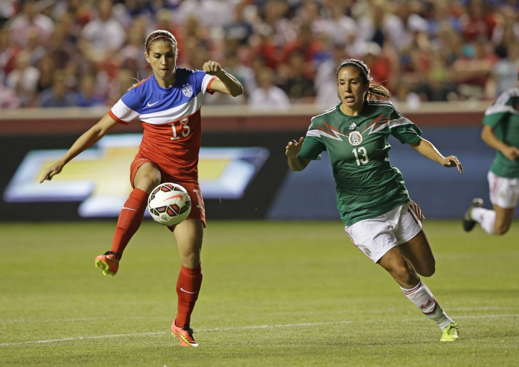 Alex Morgan and the U.S., as well as Bianca Sierra and Mexico, are favorites to advance