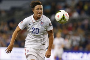 Abby Wambach scored the game's only goal. (Getty Images)
