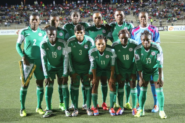 The 2015 World Cup did little to move Nigerian women's soccer forward . (Photo Courtesy: CAF)