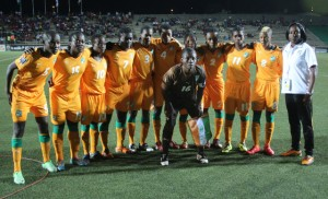 Ivory Coast is headed to the Women's World Cup for the first time ever. (Photo: CAF)