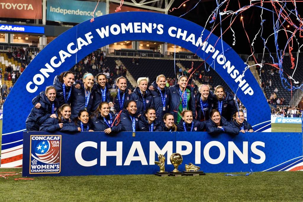 The U.S. women won their 7th CONCACAF title on Sunday. (USA Today Images)