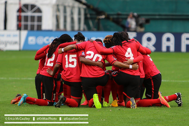 Trinidad & Tobago is one win away from being the first Caribbean nation to qualify for a Women's World Cup. (Photo Copyright Erica McCaulley for The Equalizer)