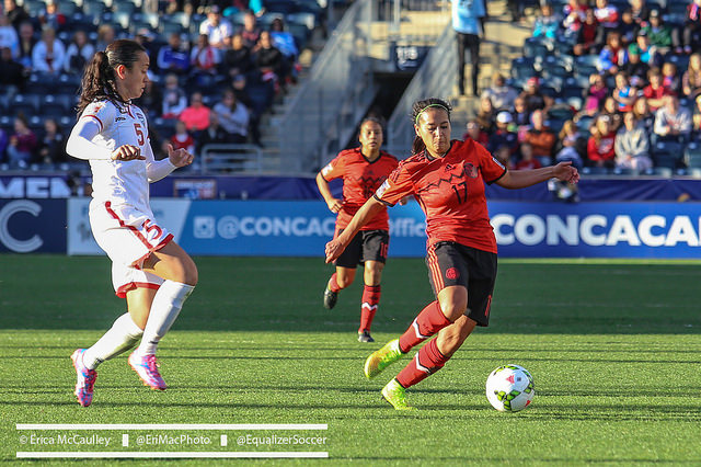 Mexico midfielder Veronica Perez has left NWSL to sign for Swedish club KIF Örebro. Mexico is no longer funding NWSL salaries. (Photo Copyright Erica McCaulley for The Equalizer)