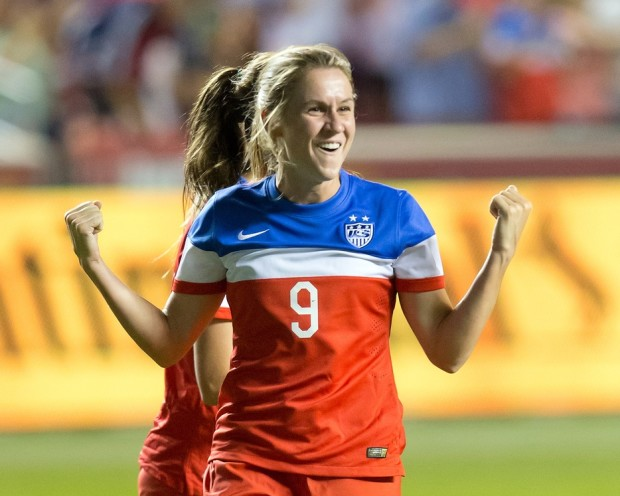 Heather O'Reilly's exile from the national team was a brief one. (USA Today Images)