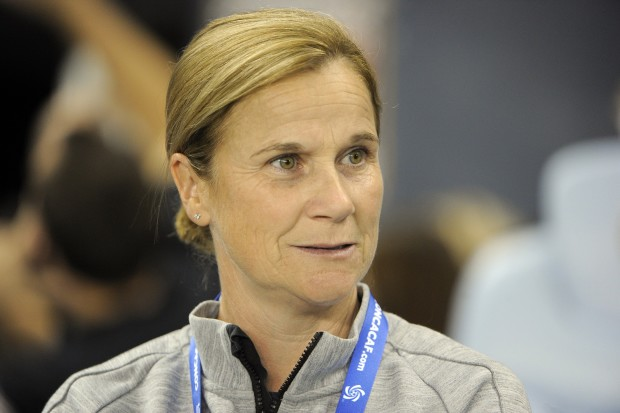 Jill Ellis saw her team win Thursday despite its midfield struggles. (USA Today Images)