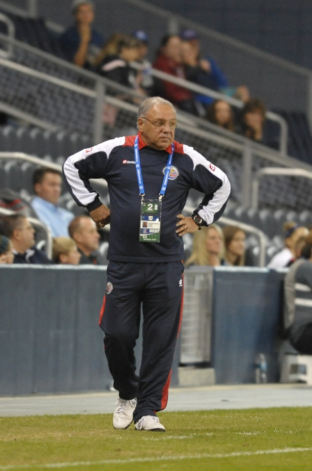 Costa Rica women's coach Garabet Avedissian says building his team took several years. (USA Today Images)
