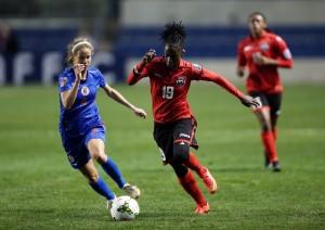 T&T's Kennya Cordner scored the game-winner vs. Haiti. (USA Today Images)