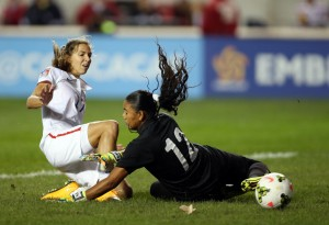 Tobin Heath had her first multi-goal game for the USWNT on Friday. (USA Today Images)