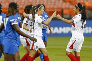 Costa Rica cruised past Martinique to stay perfect in the tournament. (USA Today Images)