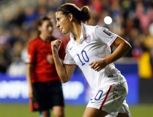 Carli Lloyd is an Olympic hero, but still an unsung hero. (USA Today Images)