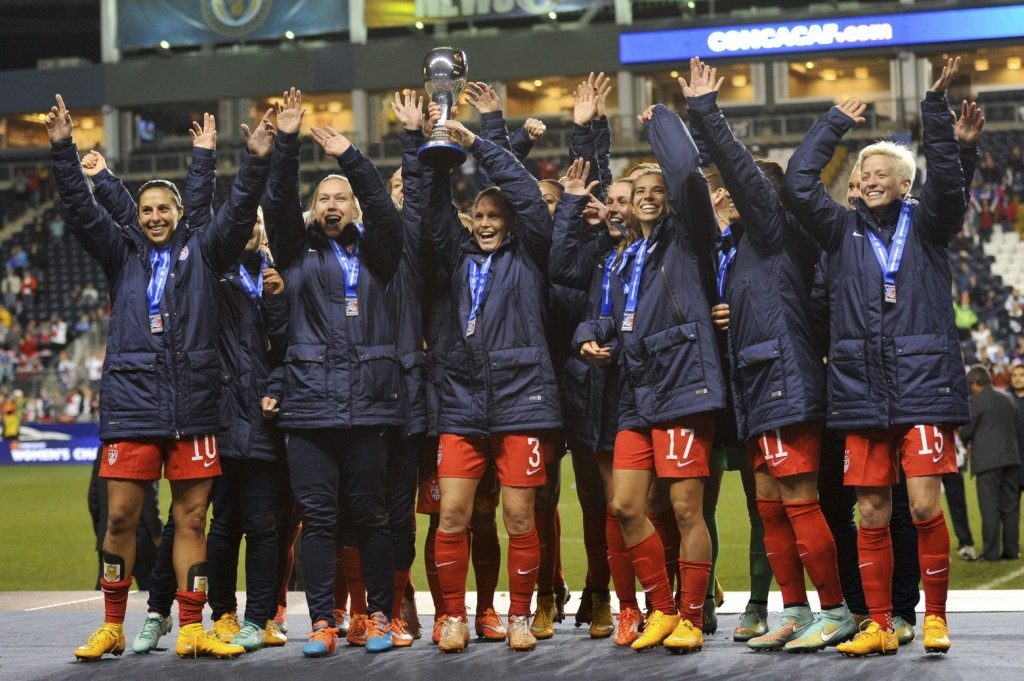 The U.S. women won their 7th CONCACAF title on Sunday, but the real World Cup-level tests lie ahead. (USA Today Images)