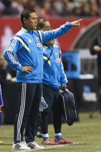 Japan coach Norio Sasaki. (Joe Nicholson-USA TODAY Sports)