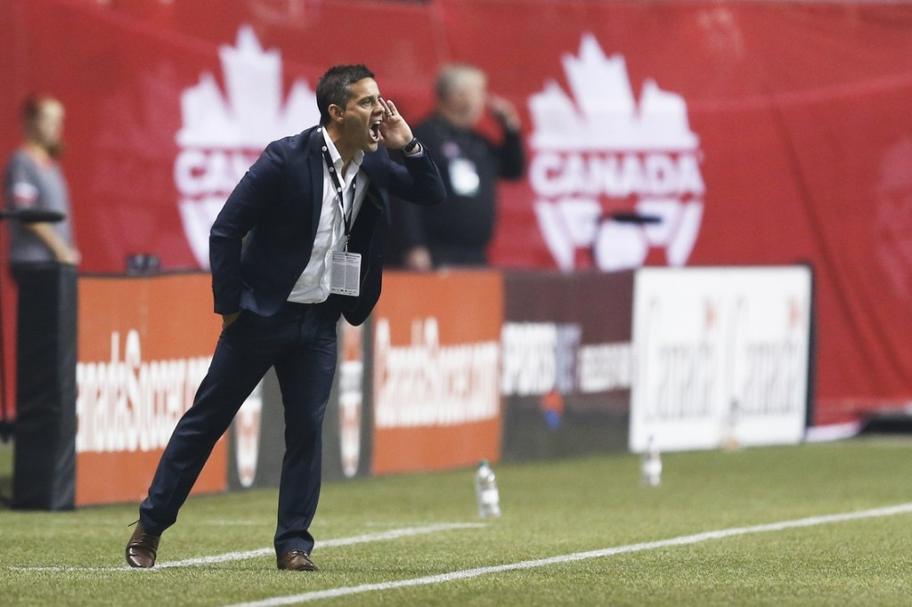 John Herdman will lead Canada against Sweden twice in November. (USA Today Images)