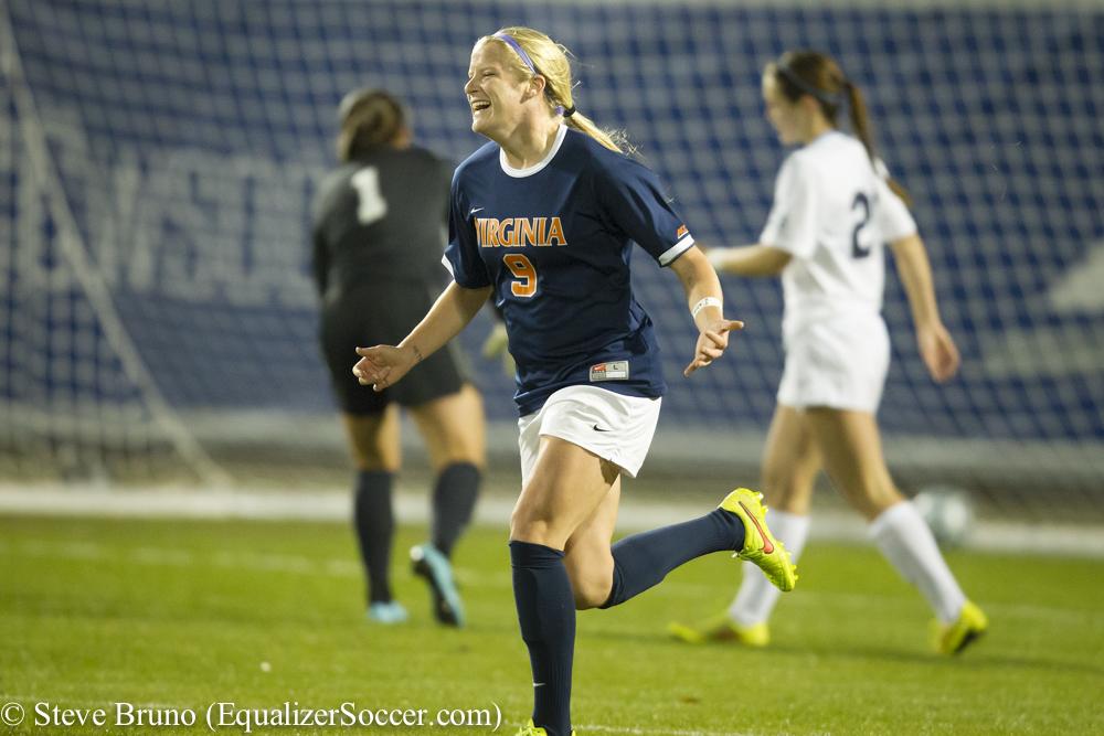 Makenzy Doniak scored the game-winner for UVa. (Photo Copyright Steve Bruno for The Equalizer)