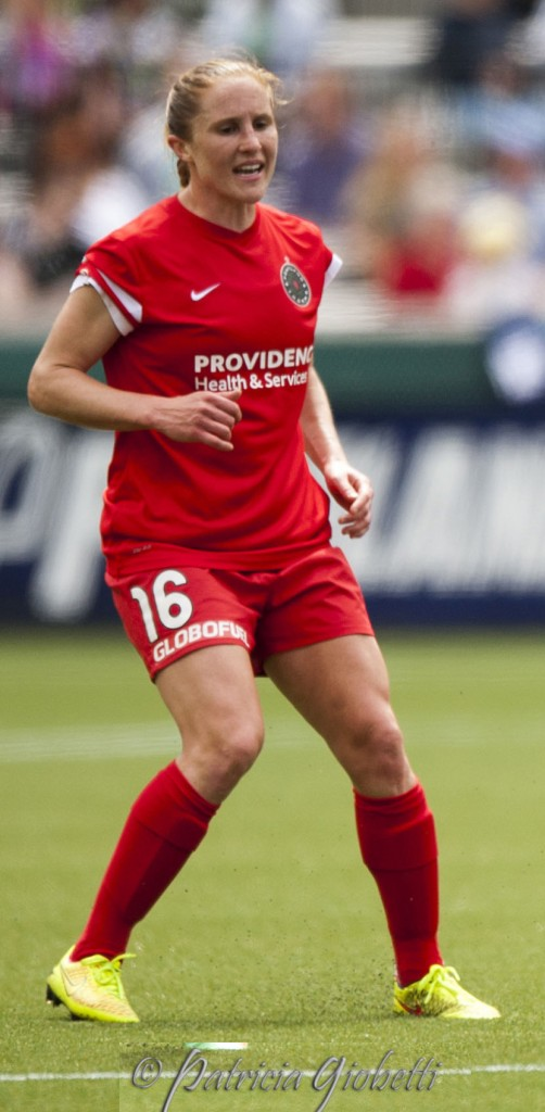 Rachel Van Hollebeke is retiring from Portland Thorns FC and the United States. (Photo Copyright Patricia Giobetti for The Equalizer)