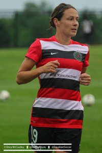 Sarah Huffman has retired from professional soccer. (Photo Copyright Erica McCaulley for The Equalizer)
