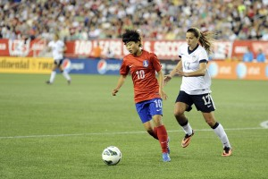 Ji So-Yun of South Korea. (USA Today Images)