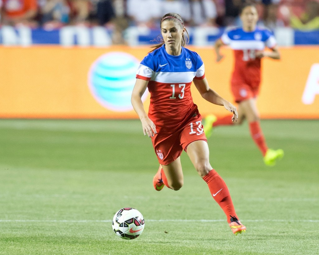 Alex Morgan is hopeful she can be back with the U.S. in Brazil in December, but she isn't rushing back. (USA Today Sports Images)