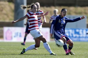 The USWNT tied Japan to start an ugly and costly Algarve Cup in March. (Getty Images)