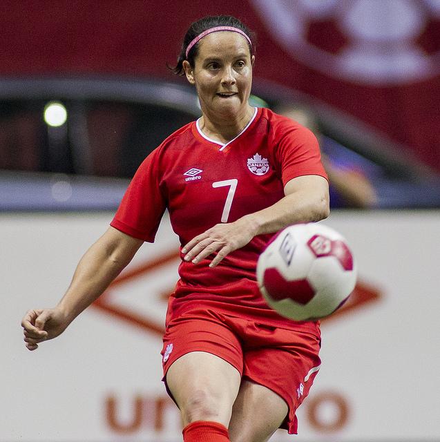 Rhian Wilkinson (Photo: Canada Soccer)