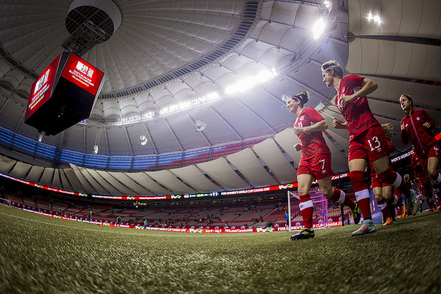Canada hopes to be at BC Place for the World Cup final on July 5. (Photo: Canada Soccer)