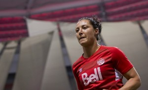 Melissa Tancredi says Canada players won't be with their NWSL teams until after the World Cup. (Photo: Canada Soccer)