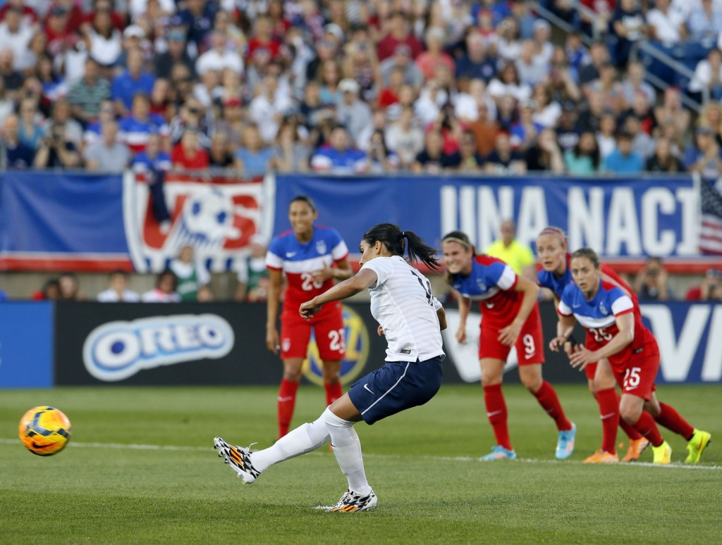 Louisa Necib and France this year showed, among other teams, that they aren't scared of the United States. (USA Today Images)