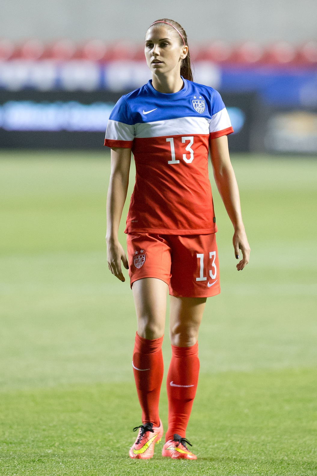 Alex Morgan Hasnt Played Since Injuring Her Left Ankle On Oct 17