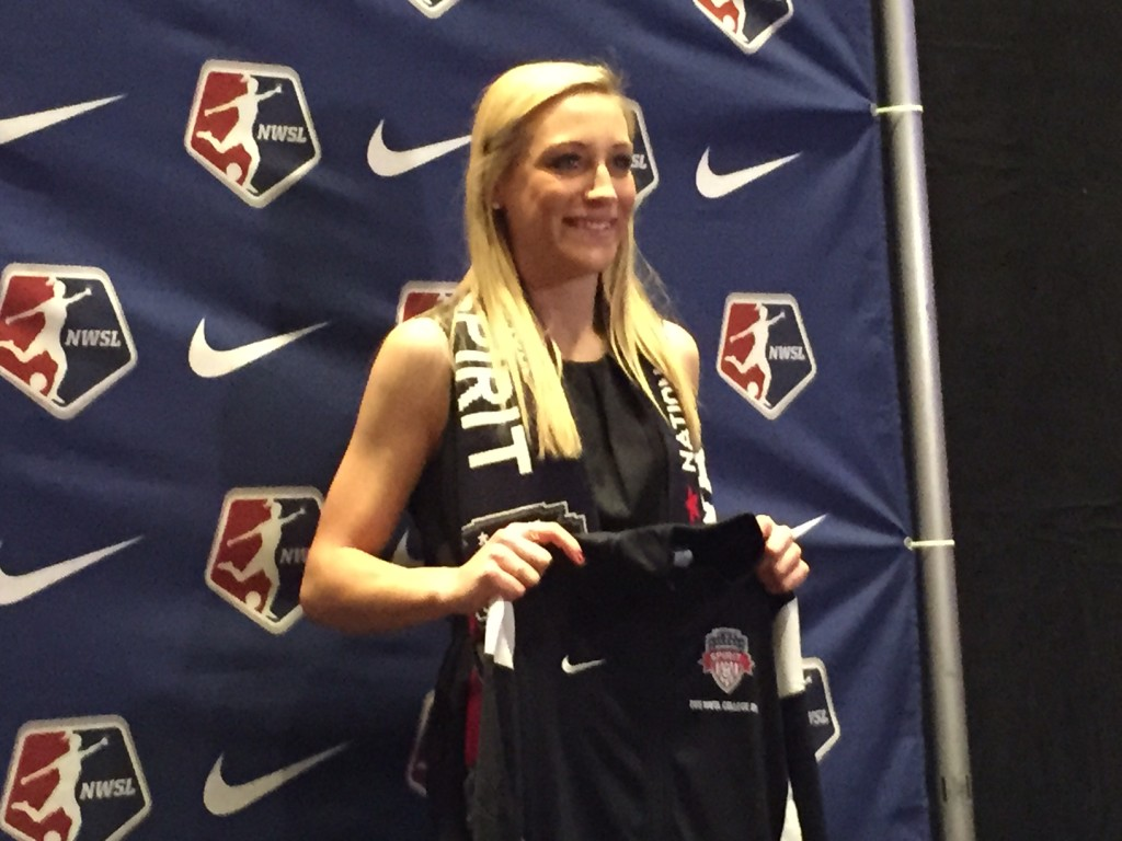 The Spirit traded up in the 2015 NWSL College Draft and landed Megan Oyster out of UCLA. (Photo Copyright Jeff Kassouf for The Equalizer)