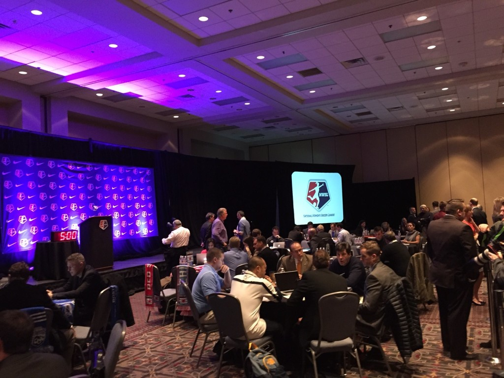 The 2016 NWSL College Draft will be held on Jan. 15, 2016, in Baltimore, Md. (Photo Copyright Jeff Kassouf for The Equalizer)