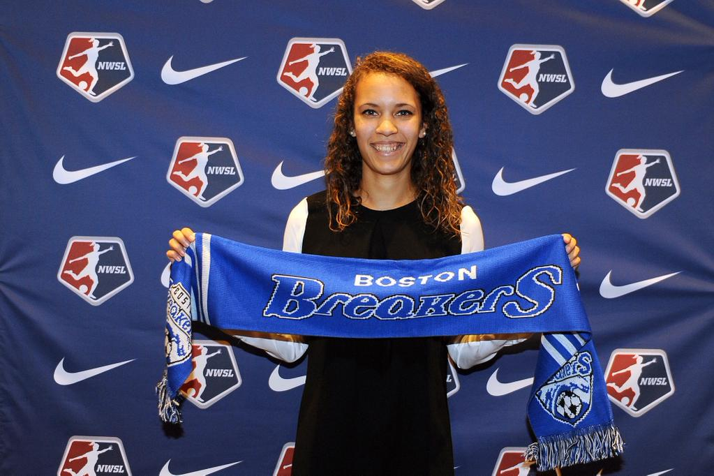 Sam Lofton's experience with the Spirit Reserves helped her get drafted to Boston.
