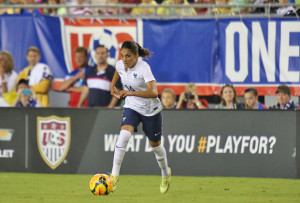 Louisa Nécib is out several weeks with a left foot injury.