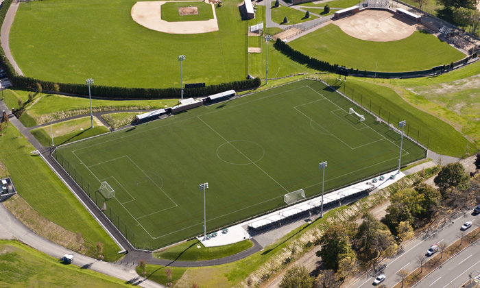 Soldiers Field Soccer Stadium is the new home of the Boston Breakers. (Courtesy Photo)