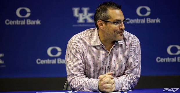 Kentucky women's soccer coach Jon Lipsitz. (Photo: University of Kentucky Athletics)