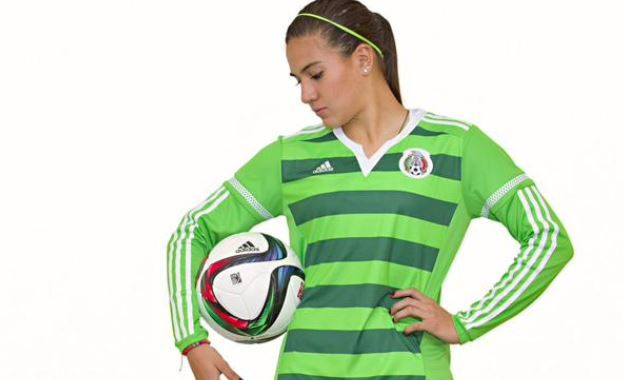 Mexico players will be impossible to miss at the 2015 Women s World Cup —  although they may blend in with the artificial turf. 51c206b0b9