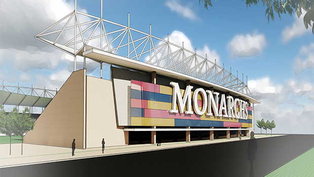 A rendering of the Real Monarchs stadium outside of Salt Lake City, which could host an NWSL team. (Courtesy Photo)
