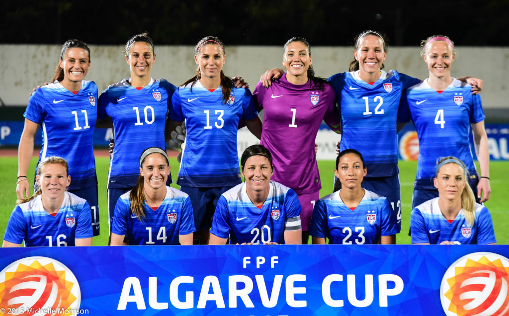 The U.S. women will not defend their Algarve Cup title in 2016. (Photo Copyright Michelle Morrison)