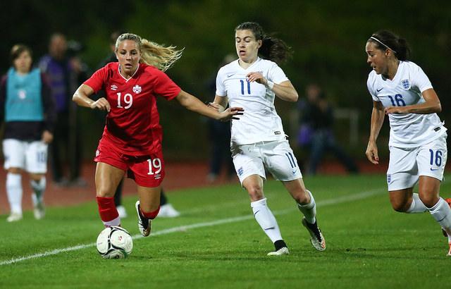 Canada and England will play on May 29 in Hamilton, Ontario. (Photo Courtesy Canada Soccer)