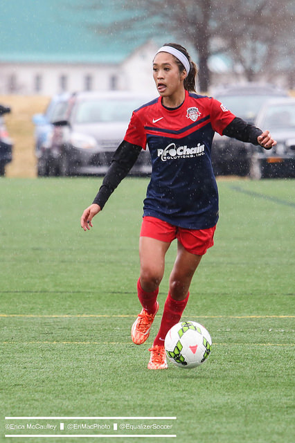 Spirit rookie Caprice Dydasco. (Photo Copyright Erica McCaulley for The Equalizer)