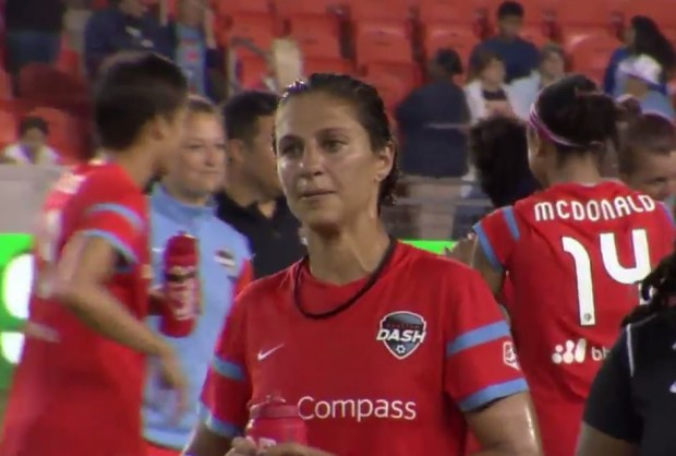 Carli Lloyd will miss 3-6 weeks with an MCL sprain.