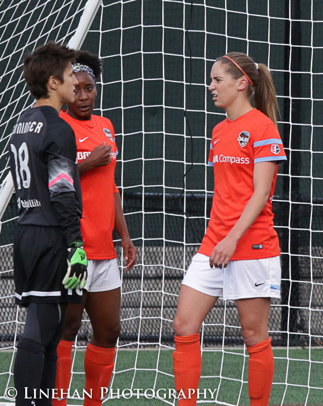 Morgan Brian is already settling in to life in the NWSL. (Photo Copyright Clark Linehan for The Equalizer)