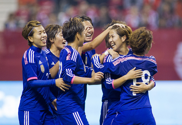 Japan aim to repeat as World Cup champions in 2011. (Photo Courtesy Canada Soccer)