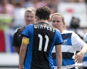 Seattle Reign FC suffered heartbreak in the NWSL Championship for the second straight season. (Photo Copyright Patricia Giobetti for The Equalizer)