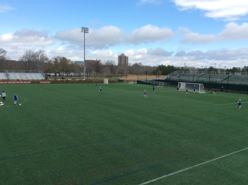 An opposite view of Soldiers Field, which will hold about 4,000 people, 300 of which would be standing-room only. (Photo Courtesy Boston Breakers)