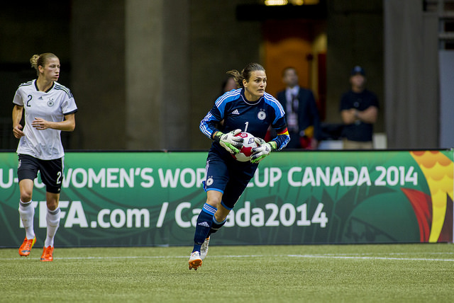 Germany GK Nadine Angerer will retire later this year, she announced on Wednesday. (Photo: Canada Soccer)
