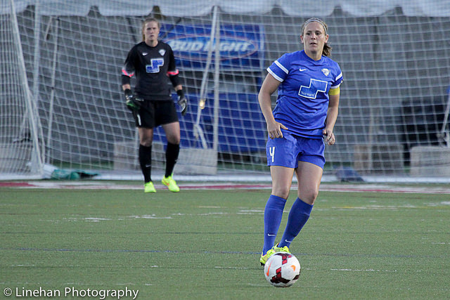 Cat Whitehill announced her retirement from professional soccer on Thursday. (Photo Copyright Clark Linehan for The Equalizer)