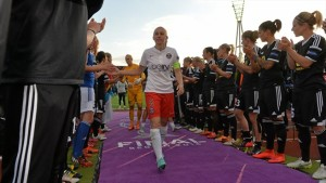 Sabrina Delannoy and PSG came up short in the UWCL final.