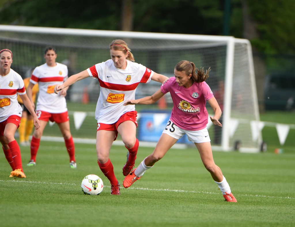 Sam Mewis and the WNY Flash earned a point on the road against FC Kansas City. (Photo Courtesy FC Kansas City)