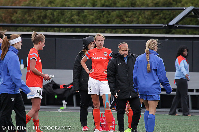 Stephanie Roche has been released by Houston. (Photo Copyright Clark Linehan for The Equalizer)