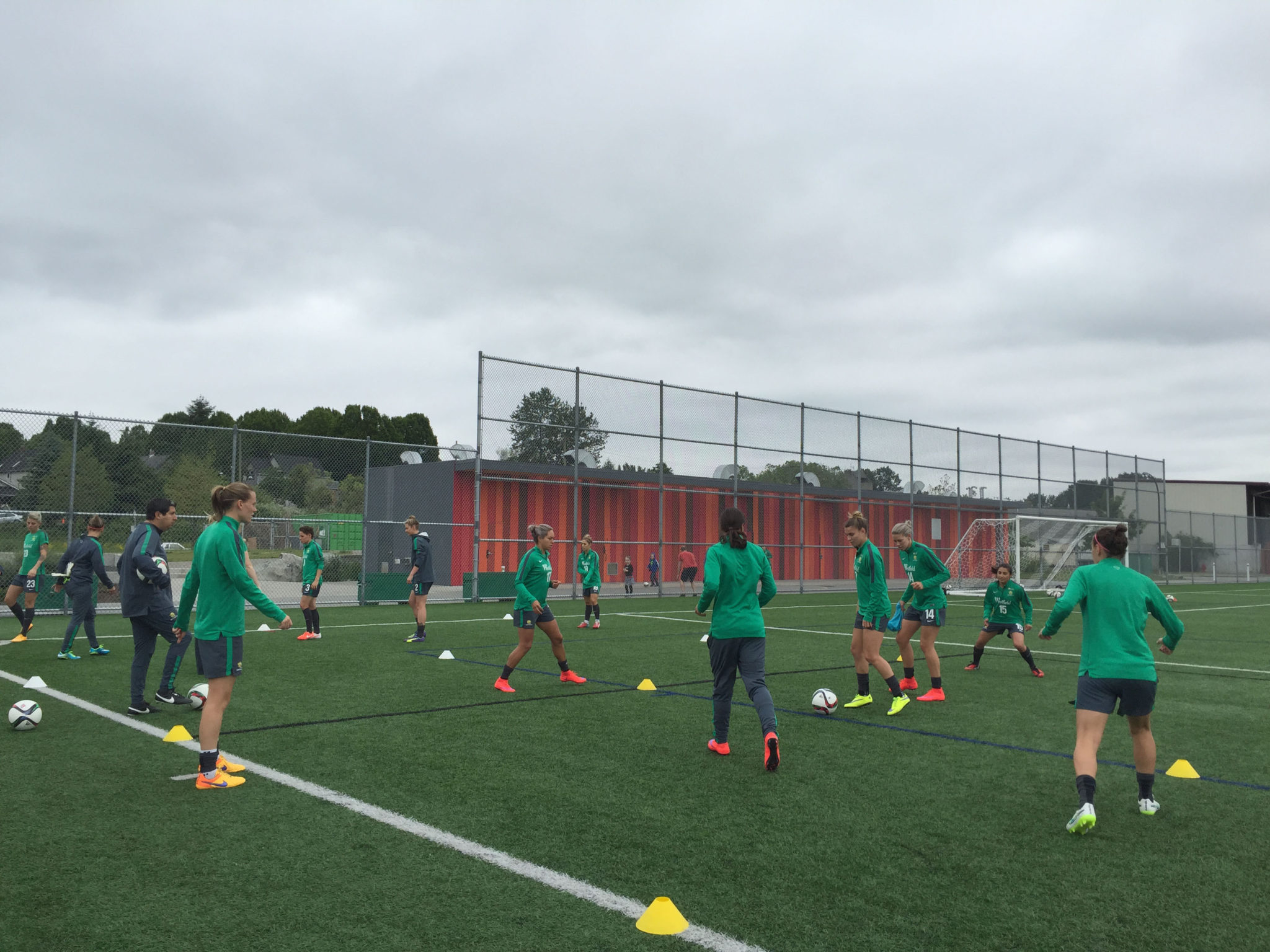 Australia trains in Vancouver ahead of the World Cup. (Photo Copyright Harjeet Johal for The Equalizer)
